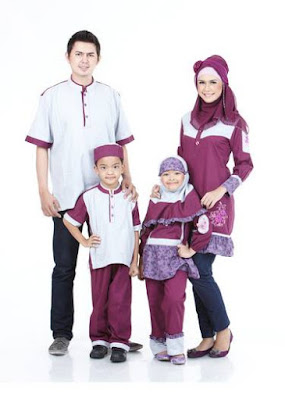 Busana Muslim Keluarga Trendy Untuk Hari Raya