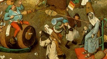 The Fight Between Carnival and Lent, Pieter Bruegel, 1559.