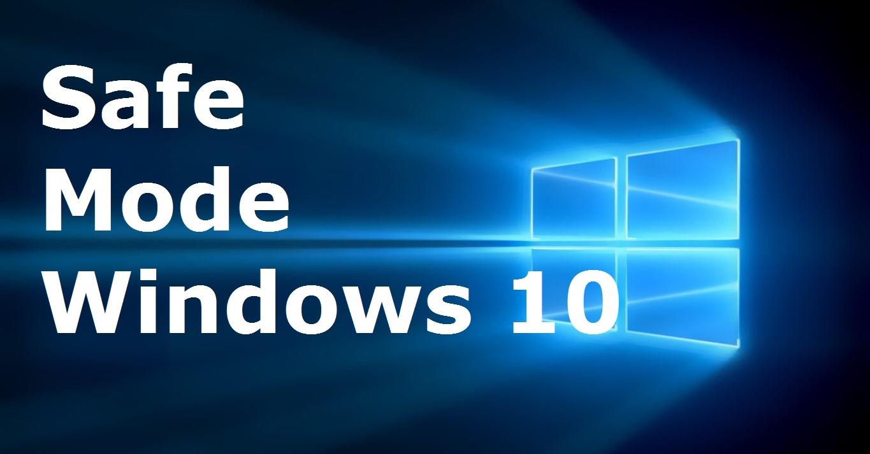 how to go to windows 8 safe mode