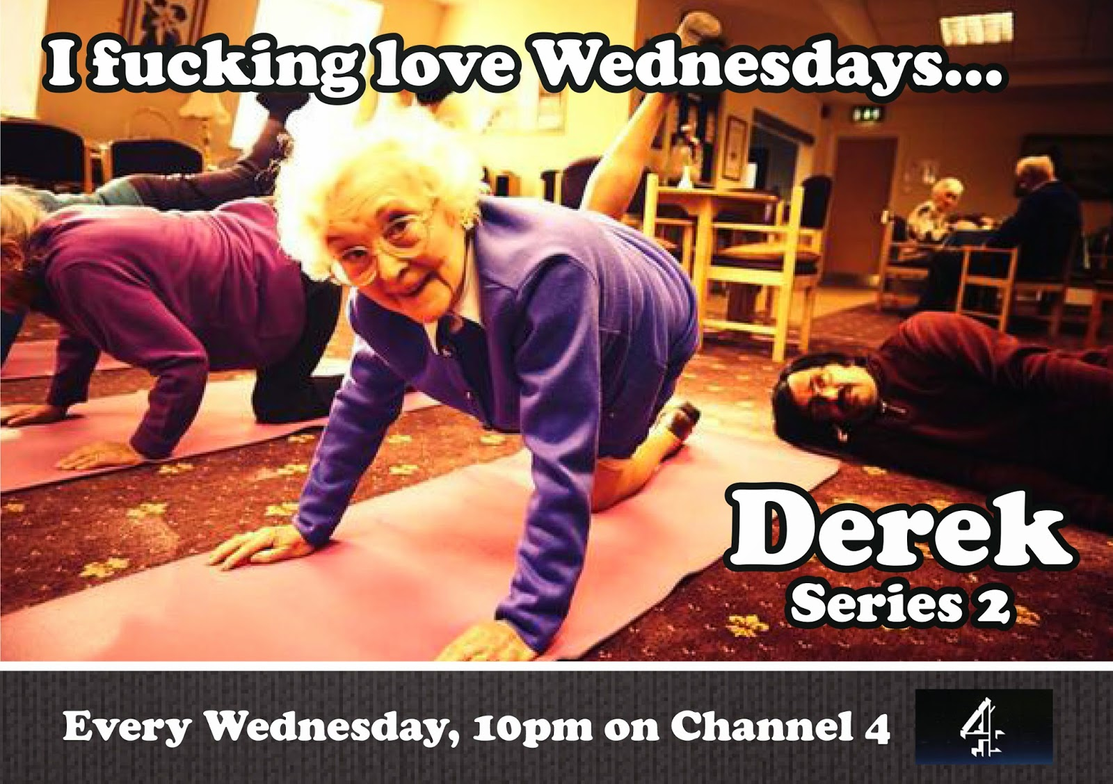 Derek Series 2 every Wednesday on Channel 4