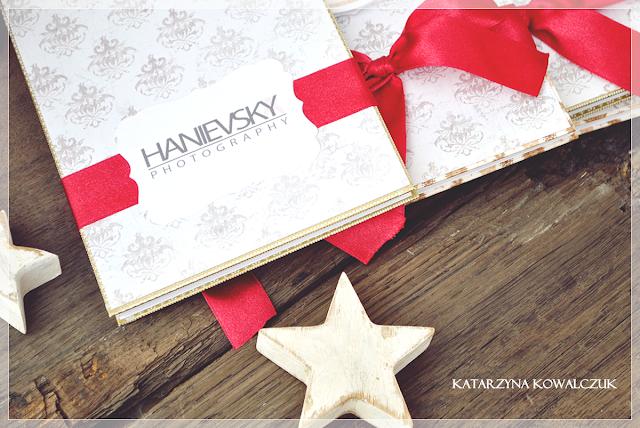 Album Świąteczny Harmonijkowy - Leporello scrapbooking