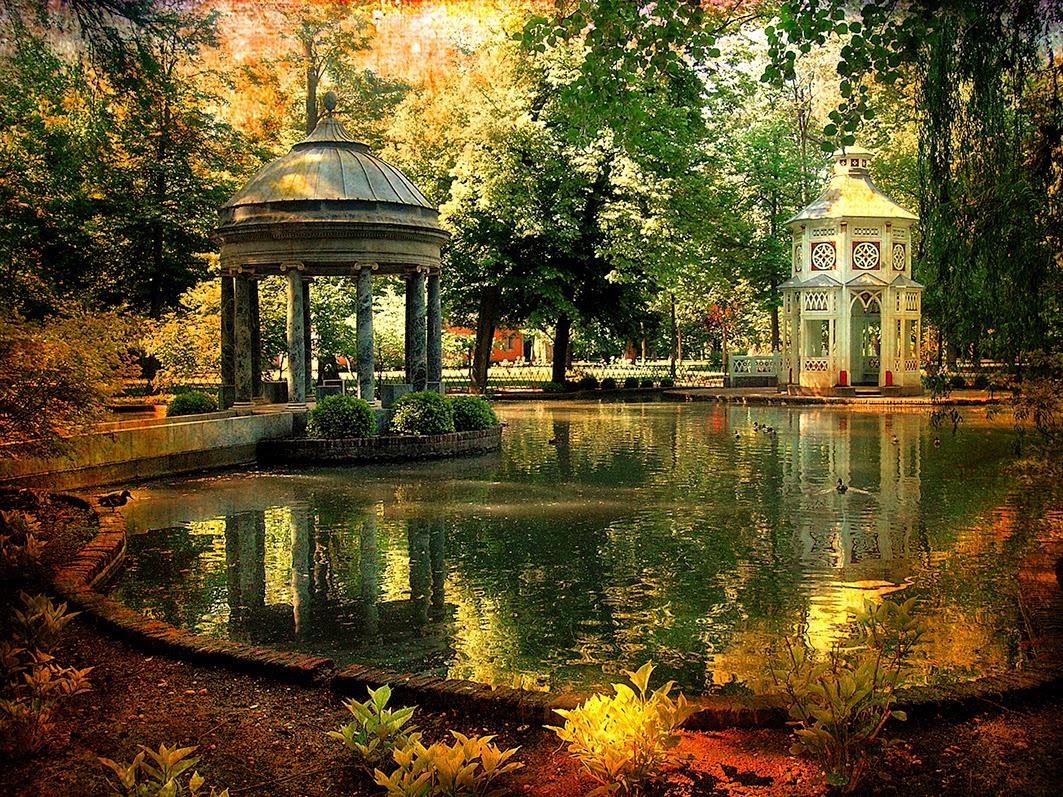 Caminando por madrid el estanque de chinescos for Aranjuez palacio real y jardines