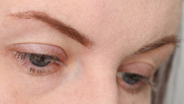 Illamasqua Precision Brow Gel in Glimpse on the brows