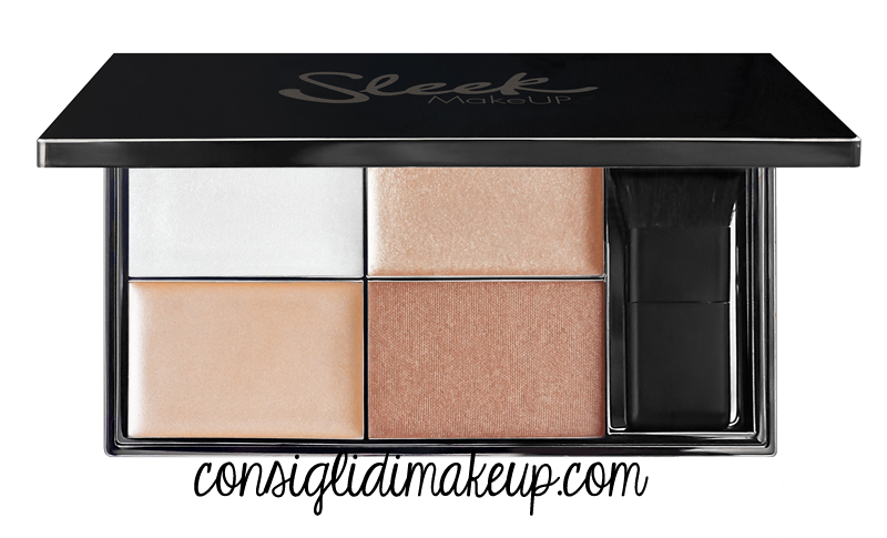 palette illuminanti sleek novità
