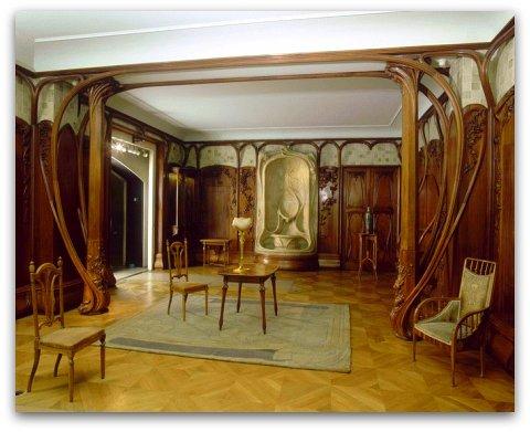Brodeuse du phare art nouveau for Salon art deco paris