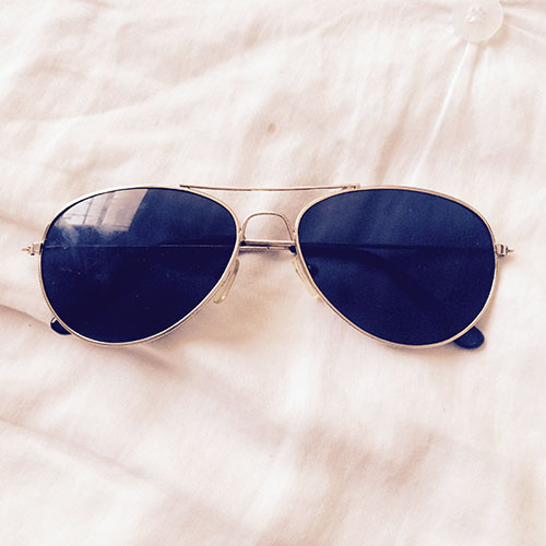 thrifted vintage aviators