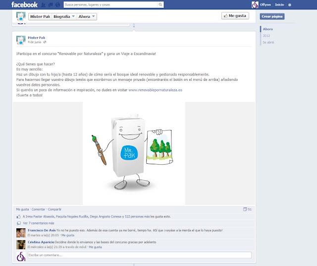 Sorteo Facebook