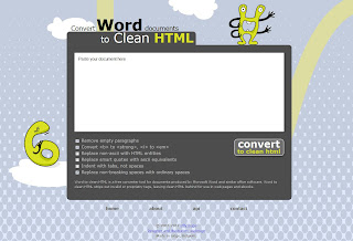How to convert table from Microsoft Word Open Office Writer and others to HTML