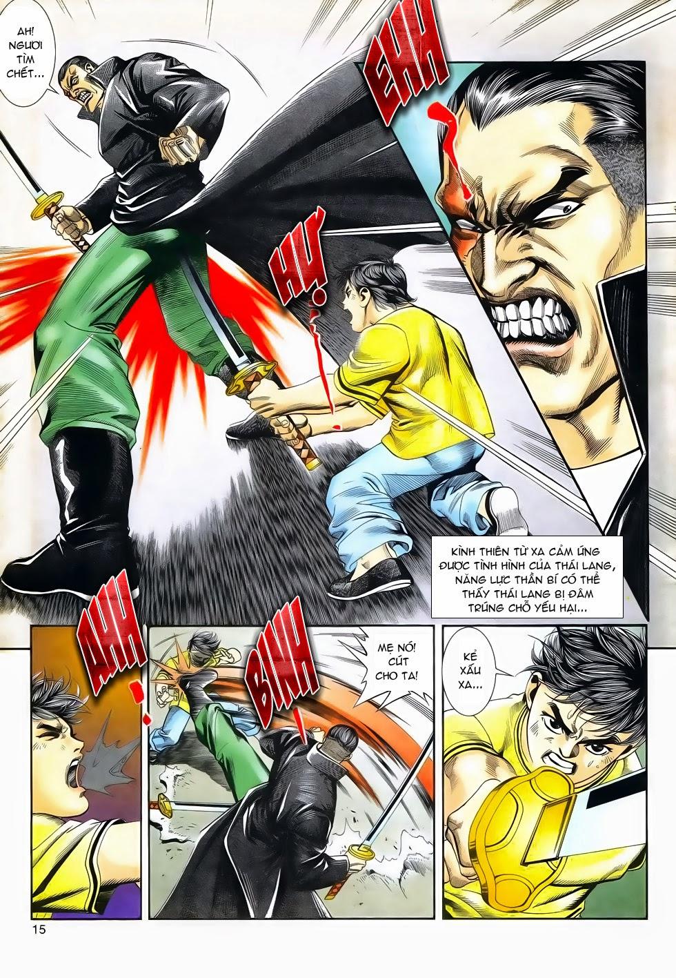 Long Hổ Phong Bạo chap 3 - Trang 15