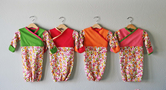 Sac de couchage Kimono bébé / DIY Baby sleep sacks