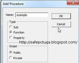 Criar fórmulas personalizadas no Excel - VBA