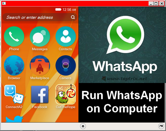 run whatsapp on comupter