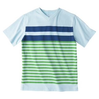 {The UNDONE Blog} Boy's Cherokee Green and Blue T