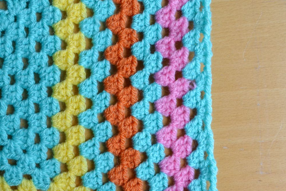 granny square baby blanket stylecraft special DK yarn