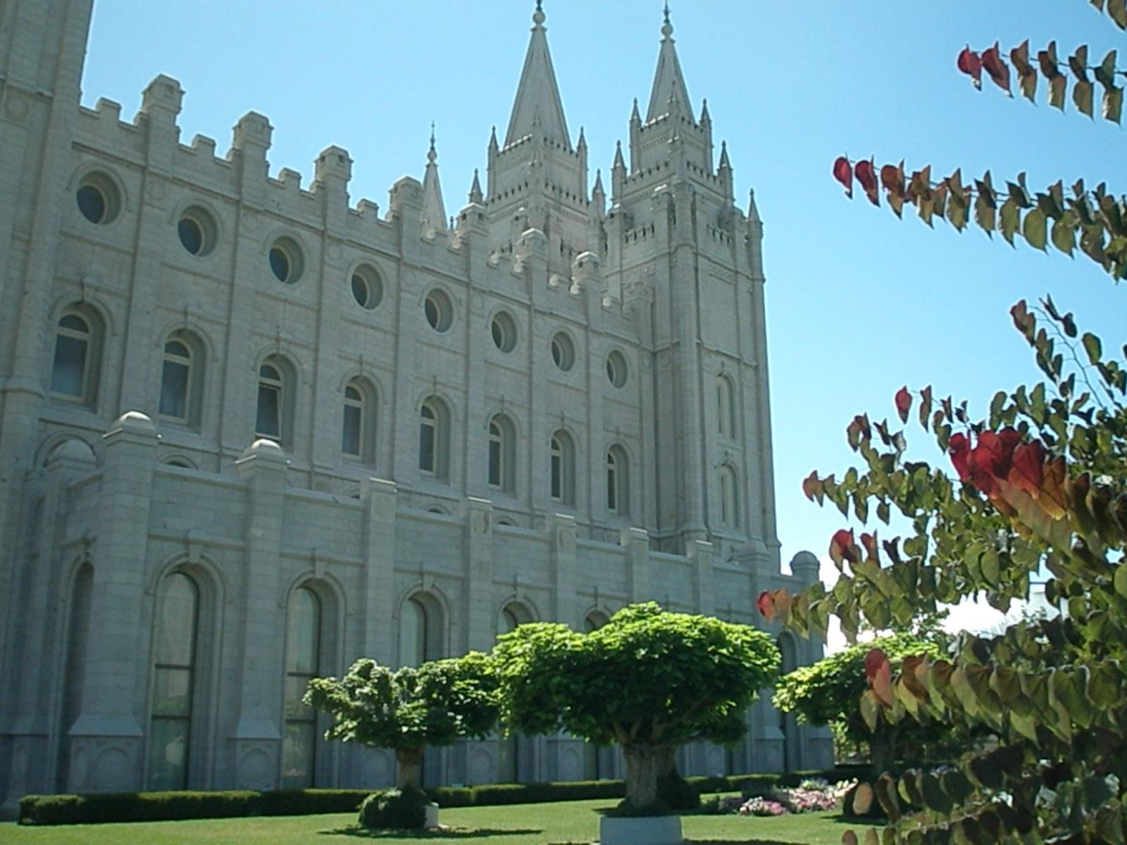 Mormon Temple Visitors Center Salt Lake City