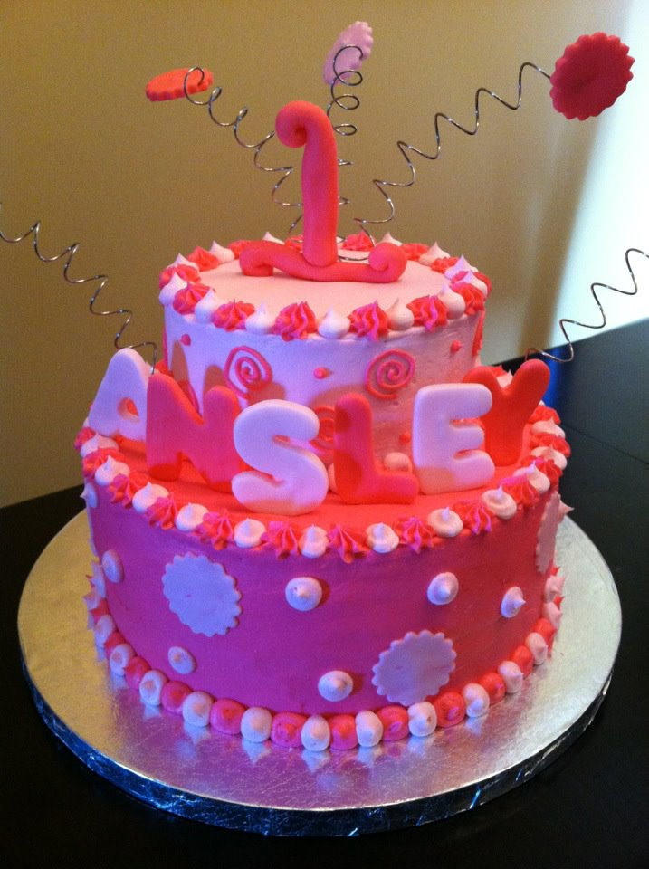 Sweet Treats By Susan Precious In Pink Birthday Cake