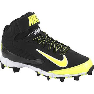 Sports authority coupon 25%: Nike Boys' Huarache Keystone Mid Baseball Cleats