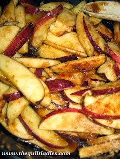 fried apple recipe
