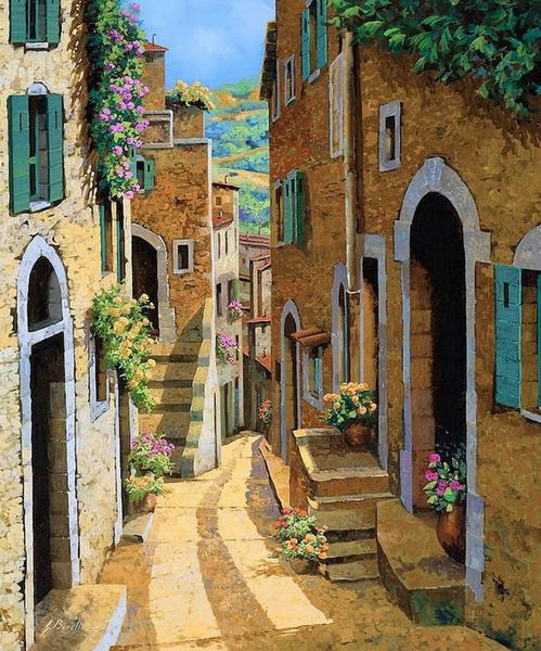 Pintura moderna y fotograf a art stica cuadros andaluces for Case mediterranee della california