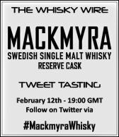 Mackmyra Reserve Cask Tweet Tasting