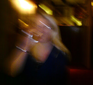 blurred photo drunk in pub