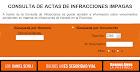 SACIT ( CONSULTA POR LAS INFRACCIONES DE TRANSITO DE LA PROV. BS. AS.  )