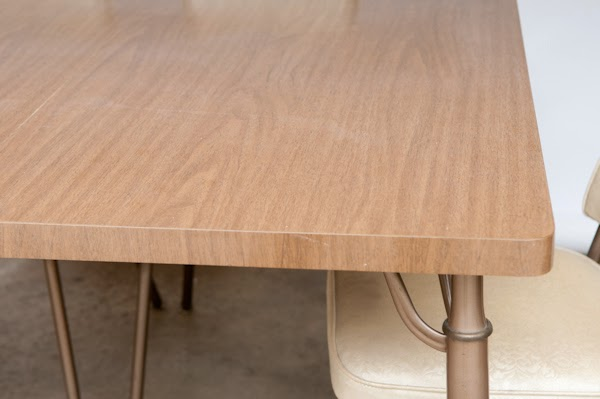 60u0027s Vintage Walter Wabash Formica Table Top MODERN DESK /DINING TABLE   $  SOLD $