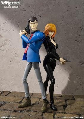 Lupin e Fujiko in versione SH Figuarts della Bandai