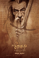 the hobbit ian mckellen imax poster