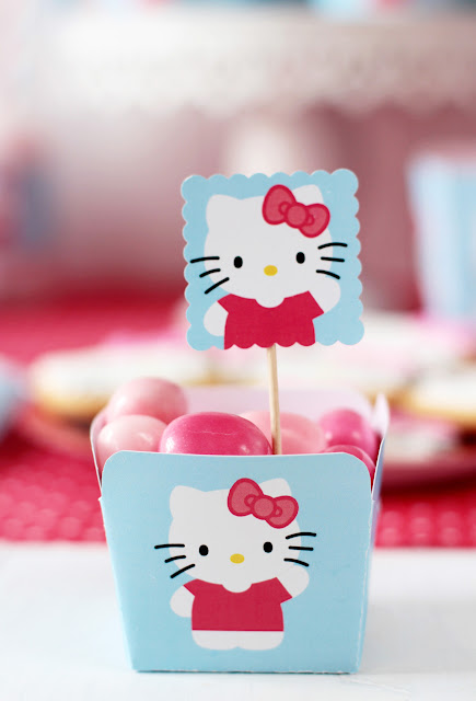Imprimible gratis de Hello Kitty