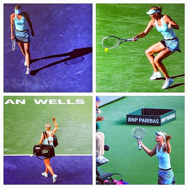 Maria Sharapova lost against Camila Giorgi 3 - 6, 6 - 4, 5 - 7 on Monday in BNP Paribas 2014.