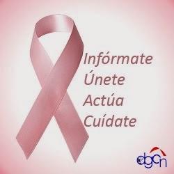 OCTUBRE: mes de la lucha internacional , contra el cáncer de mama.