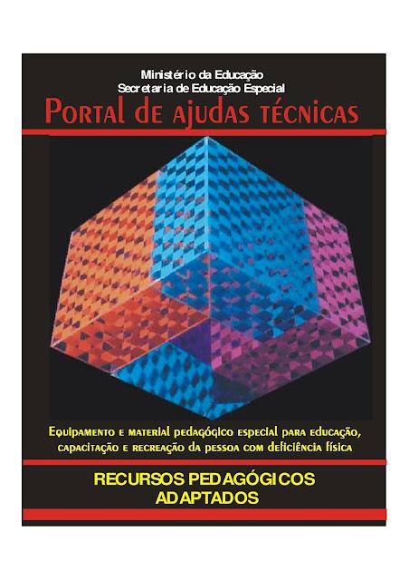 APOSTILA COM SUGESTÕES DE ATIVIDADES PARA ALUNOS PORTADORES DE NECESSIDADES ESPECIAIS!