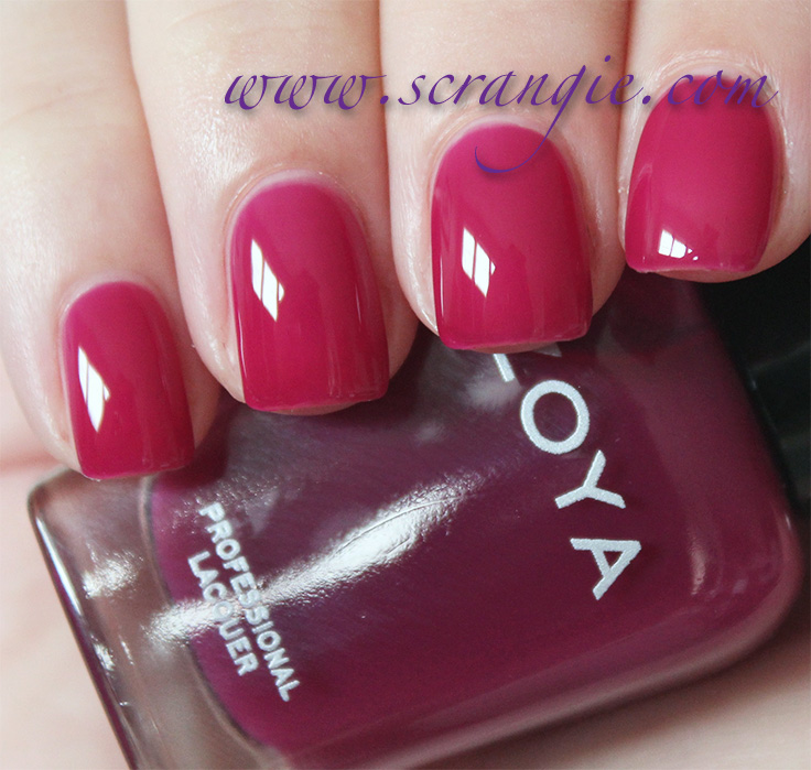 Scrangie: Zoya NYFW Gloss Collection Fall 2012 Swatches