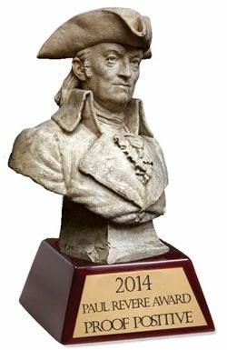 2014 Paul Revere Award