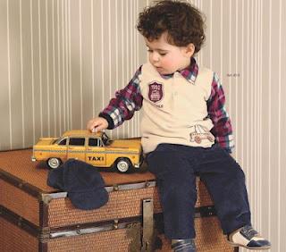 Paraiso Kollektion setzt der Kleidung für Kinder Herbst Winter 2013