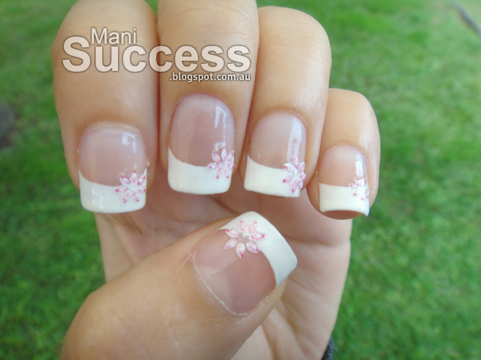 Mani Success Simple White Tip Nails Nail Art Design Ideas Collection