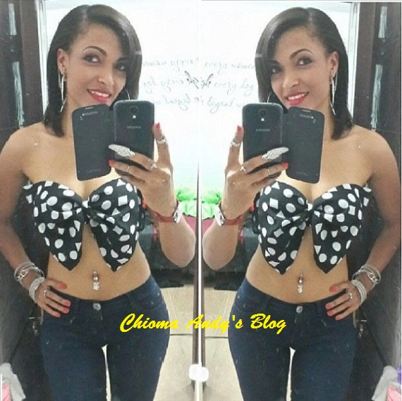 Would You Wear This Outfit By Banky W's Girlfriend? chiomaandy.com