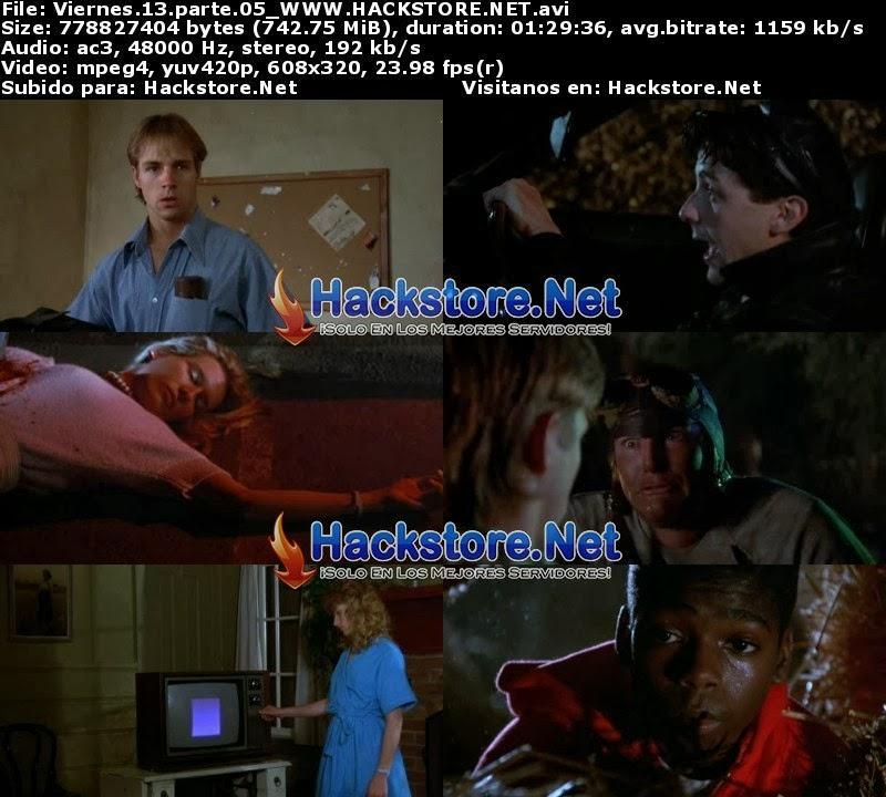 Captura Titulo Viernes 13 Parte 5 (1985) Dvdrip Latino