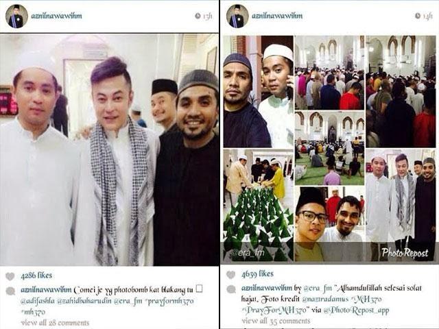 Selebriti Lakukan Solat Hajat Doakan Kru & Penumpang #mh370