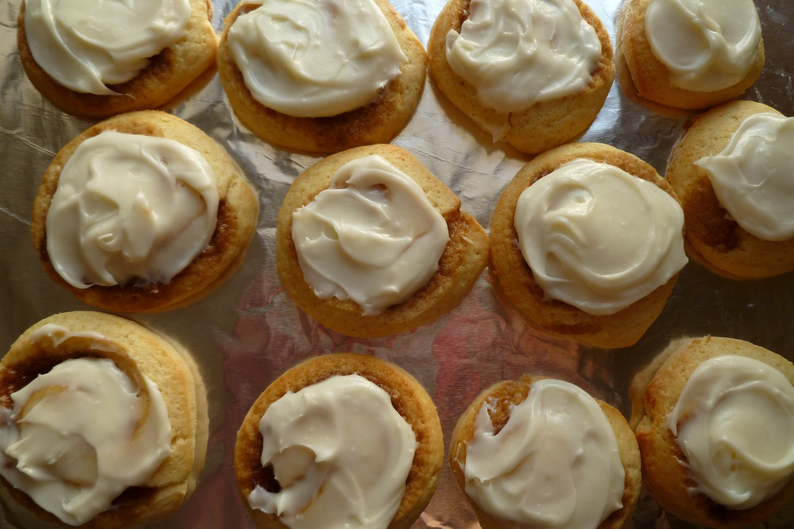 Cinnamon Roll Sugar Cookies - made April 19, 2013 from Chef in ...