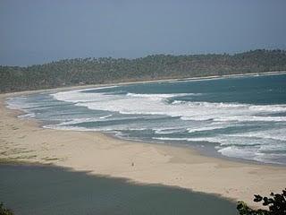 mungkin sisi lain Pantai Sawarna