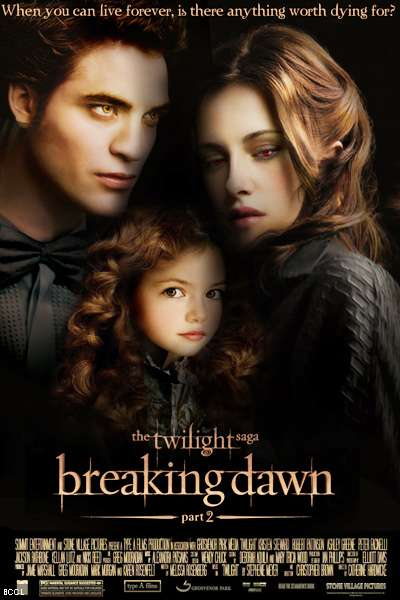 Kristen Stewart As Bella Swan Robert Pattinson Edward Cullen Taylor Lautner Jacob Black In Theatre November 11 2012 Part 1