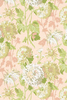 Floral Wallpaper pink T4129