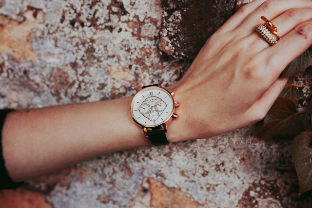 Autumn and Winter blogger wardrobe staples including Olivia Burton Watch with photography from Alexandra Cameron