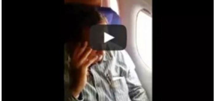 Video Gadis Cantik Jadi Mangsa Kerakusan Lelaki Tua Dalam Pesawat Tersebar