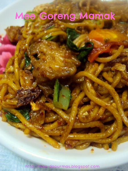 how to cook mee goreng mamak