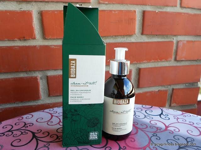 biobaza gel za umivanje peršin boražina vitamin e