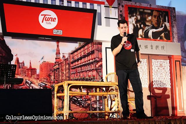 Jason Lo at TuneTalk CNY Dinner 2014