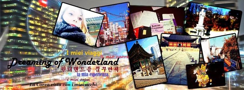 Dreaming of Wonderland ** 원더랜드를 꿈꾸면서 ** Sognando il paese delle meraviglie. Viaggi in Corea del sud